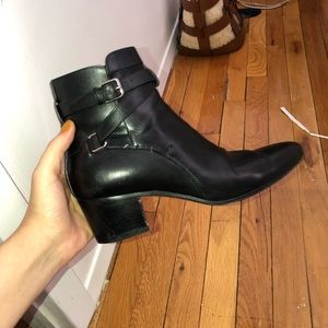 Saint Laurent West Jodhpur Booties